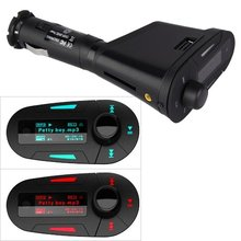 AUTO 360LED MP3 Transmisor FM USB SD MMC Del Transmisor de Radio