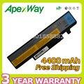 Apexway 6 celdas 4400 mah batería del ordenador portátil para lenovo 57y6440 l09s6d1 l09n6d1 para y460n-psi ideapad y460 y460a y460at y560