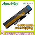Apexway 6 cell 4400mAh Laptop Battery for Lenovo 57Y6440 L09S6D1 L09N6D1 for IdeaPad Y460 Y460A Y460AT Y560 Y460N-PSI