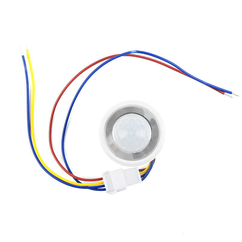1pc 26mm Automatic IR Infrared Ray Motion Sensor Switch time delay adjustable mode detector switching for Smart Home Automation