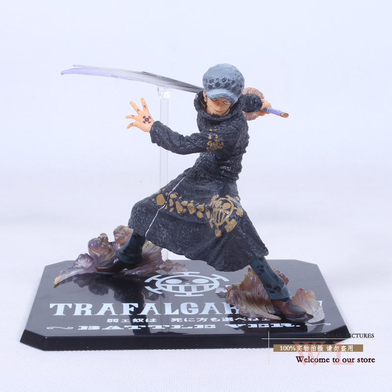 Free Shipping Cool 5 One Piece The Surgeon of Death Trafalgar Law After 2 Years Battle Ver. PVC Action Figure Model Toy OPFG275 free shipping 5 7cm japanese one piece after 2 years pvc action figure tea lunch collection model toy 9pcs per set