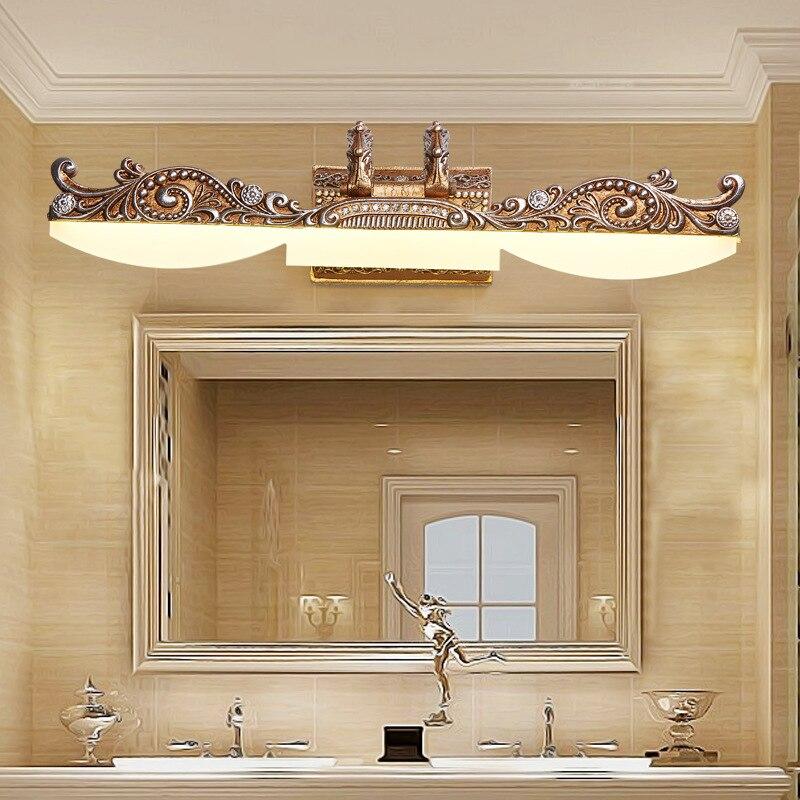 LED Mirror lights vanity lighting Nordic Retro Wall lamps makeup fixtures barbershop dressing table illumination bathroom lights in LED Indoor Wall Lamps from Lights Lighting