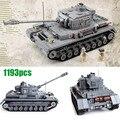 Века Военная WW2 Немецкий Panzer IV F2 Бак 3D Модель Пушки Panzerkampfwagen 923 Строительные Блоки Игрушки Совместимость с Lego
