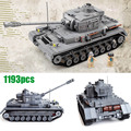 Century Military WW2 German Panzer IV F2 Tank 3D Model Cannon Panzerkampfwagen 923 Building Blocks Toy Compatible with Lego