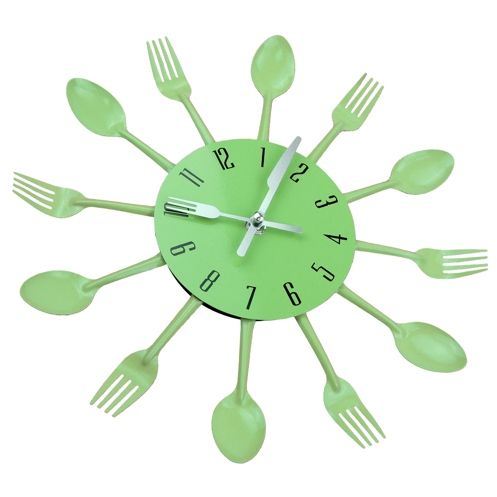 ... Kitchen Wall Clock Wall Stickers Mechanism