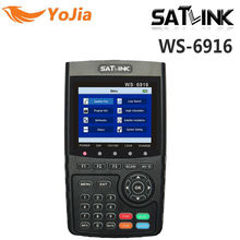 Yojia Original Satlink WS-6916 Satellite Finder DVB-S2 MPEG-2/MPEG-4 Satlink 6916 High Definition Satellite meter TFT Lcd-bildschirm