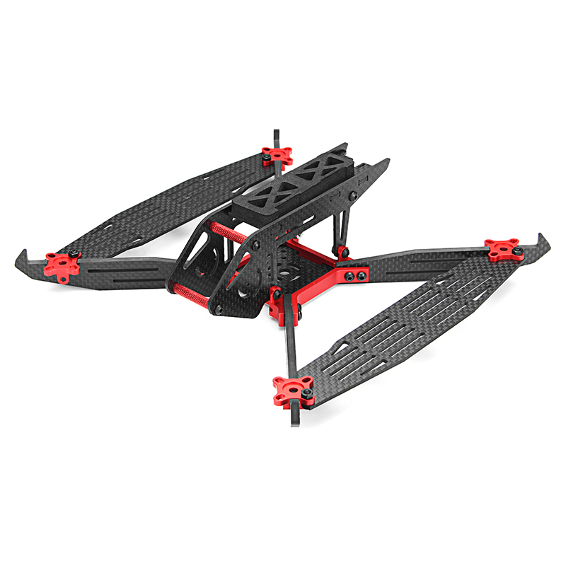Minibigger Airdacer 215/260 215mm/260mm Wheelbase 4mm Arm Carbon Fiber Frame Kit for RC Racing Drone DIY Multicopter Accs awesome f100 100mm quadcopter frame kit wheelbase mini four axis aircraft pure carbon fiber for fpv rc racing drone frame kit