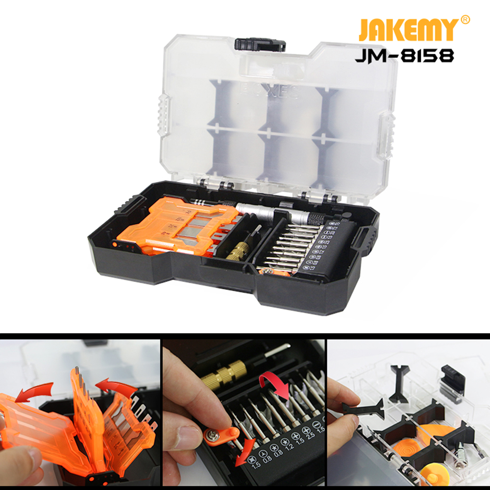 34 In 1 Scalpel Knife Multifunction Tool Kit Art Pen Knife Precision Cutter DIY Craft Carving Knives With Scalpel Blades JM-8158