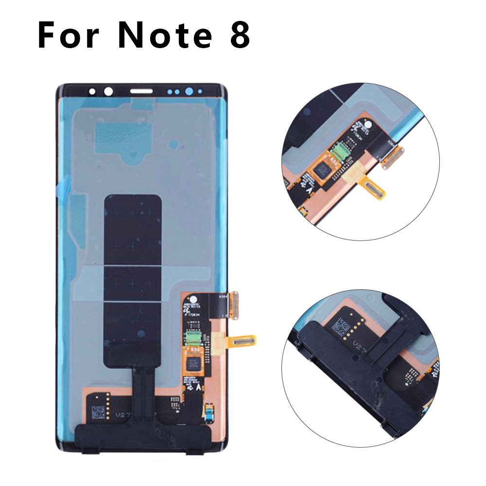Super AMOLED 6.3 For SAMSUNG GALAXY Note 8 LCD Touch Screen Digitizer Assembly Burn-Shadow For SAMSUNG Note 8 N950 N950F LCD Super AMOLED 6.3 For SAMSUNG GALAXY Note 8 LCD Touch Screen Digitizer Assembly Burn-Shadow For SAMSUNG Note 8 N950 N950F LCD