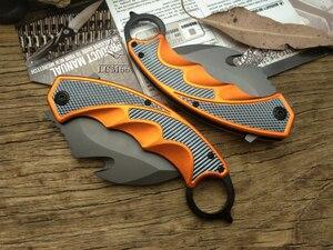 Image 2 - Couteau de poche tactique pliant LCM66 Karambit, couteau à griffes de renard, outil cadeau csgo, pour camping, plein air, pour la survie dans la jungle, auto défense