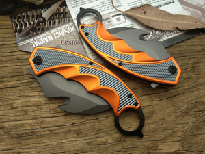 Image 2 - LCM66 Karambit Folding Knife, Fox claw knife csgo Gift Tactical Pocket Knife,outdoor camping jungle survival battle self defense