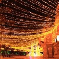 100M 600 LED String Fairy Lights Outdoor LED Lighting Christmas lights Holiday Lighting Garlands Wedding Party Garden Decoration
