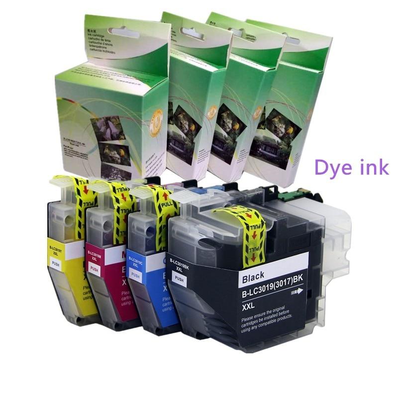 YOTAT Dye ink LC3019XL Compatible ink cartridge LC3019 (LC3017) for Brother MFC-J5330DW MFC-J6530DW MFC-J6730DW MFC-J6930DW