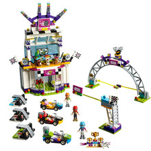 New Friends Heartlake the Big Race Day compatible legoergy 41352 Building Blocks Bricks Girl Toys Christmas Gift