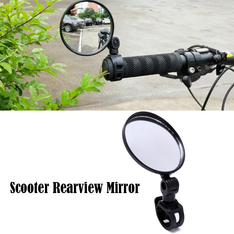 Scooter Rearview Mirror For Xiaom Mijia M365 Ninebot ES1 ES2 Scooter Qicycle EF1 Bike Back Mirror Cycling Strap Reflex Rear View