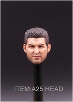 1 6 Scale Sports Star Head Sculpt A 25 Male Head Carving For 12 Body Figure