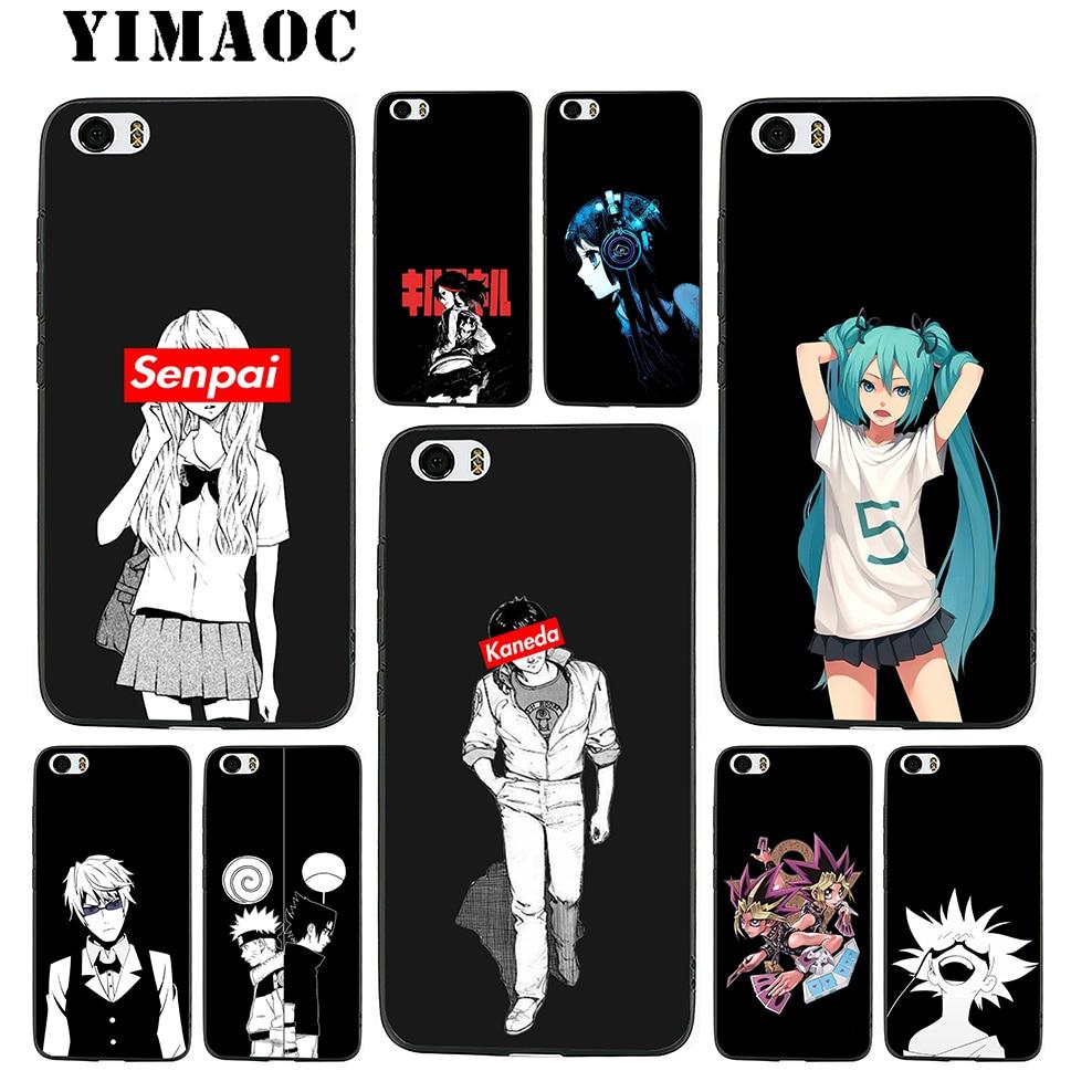 YIMAOC Anime Girl Hatsune Miku Soft Silicone Case for Xiaomi Redmi Note Mi 8 6 A1 A2 4X 4A 5A 5 Plus MiA1 A2 Pro Lite