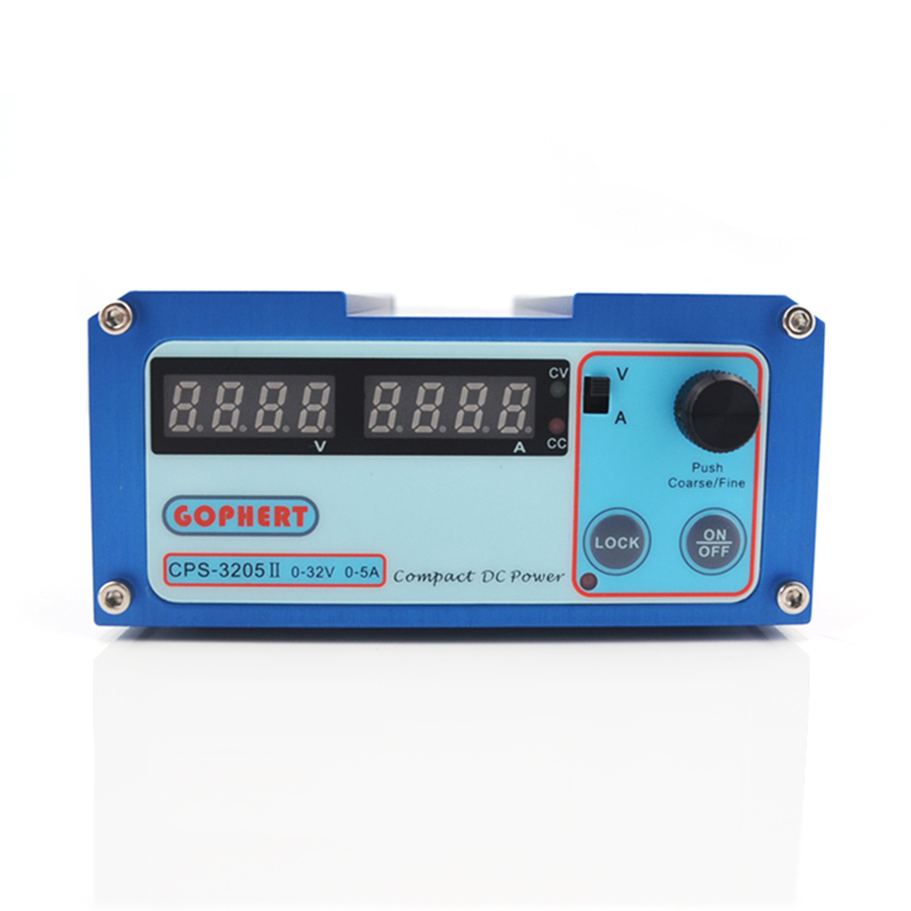 CPS 3205II precision Compact Digital Adjustable DC Power Supply OVP OCP OTP low power 32V5A 110V