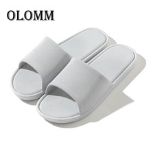 Slippers Men's Indoor Couple Home Non-slip Soft Bottom Bathroom Slippers Ladies Summer Sandals And Slippers Outdoor Beach Shoes