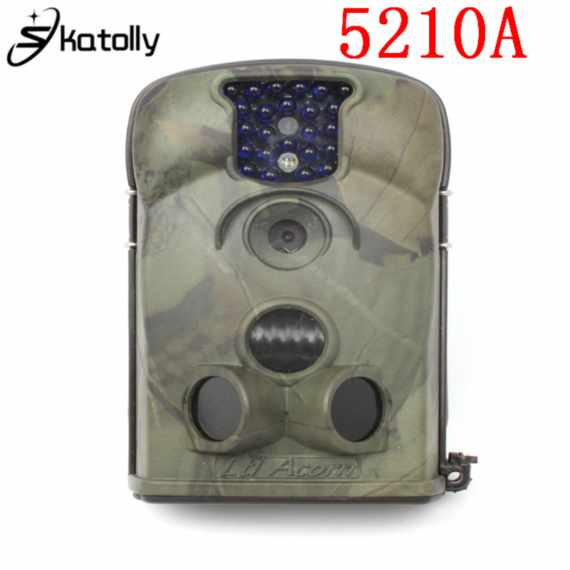Skatolly 5210A Scouting Hunting Camera photo traps IR Wildlife Trail Surveillance 940nm Low-Glow 12MP ltl acorn 5210a scouting hunting camera photo traps ir wildlife trail surveillance 940nm low glow 12mp