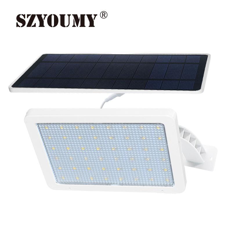 SZYOUMY Solar Lamp 48 leds Solar Light For Outdoor Garden Wall Yard LED Security 48LED Lighting