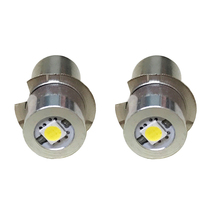 Ultra-Bright LED Upgrade Bulb 2-6 Cell C D Model White Torch Flashlight P13.5S 0.5W 1W P13.5S 3V 4.5V 6V 7V 9V 12V