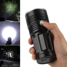 LED Flashlight 13x XML-T6 LED Waterproof Super Bright Backpacking Hunting Fishing Torch Flash Lamp led flashligh 12x xml t6 led waterproof 4 mode 18650 battery super bright backpacking hunting fishing rope torch flash lamp