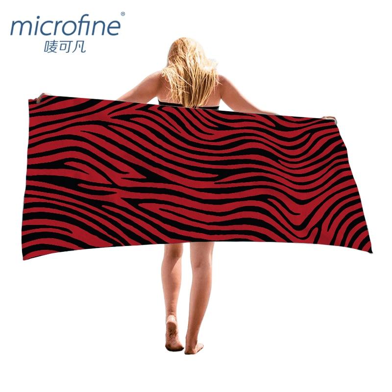 Microfine Zebra Beach Towel Women Microfiber Fast Drying Oversized Bath Towel Outdoor Swimming Sport Yoga Mat Travel Blanket  yoga mat zebra Microfine font b Zebra b font Beach Towel Women Microfiber Fast Drying Oversized Bath Towel Outdoor