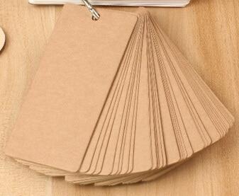 Hot selling Craft 100*50mm.new arrival fashion cute fun creative retro Kraft paper MiNi Card.Notepad.Message Post.Writing scratc