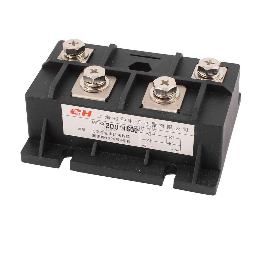 цена на 200A 1600V Diode Module Single Phase Bridge Rectifier MDQ-200A