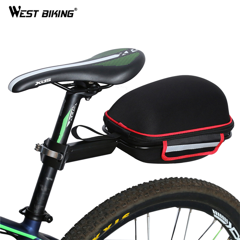 WEST BIKING Cycling font b Bag b font Bike Rear font b Bag b font Reflective