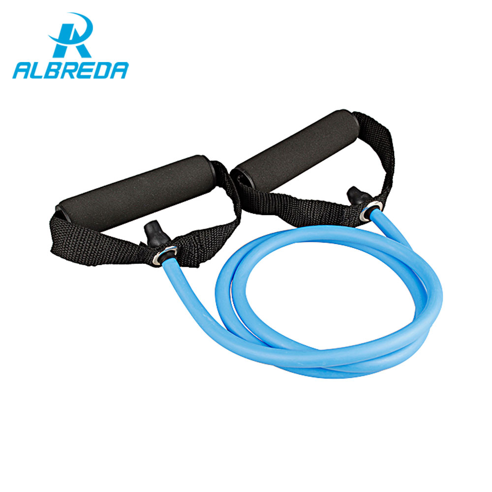 ALBRED Tension Elastic pilates Exercise Sport Workout fitness Equipment rubber loop Stretch expander Belt Pull Strap Resistance