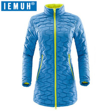 IEMUH Brand New Women Outdoors Sports Softshell Jacket Thicken Hiking Skiing Thermal Breathable Inner Long Fleece Jackets