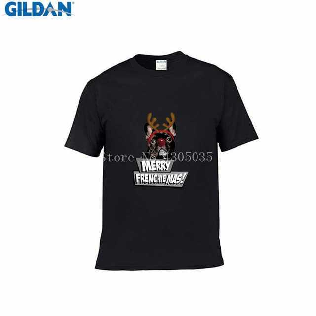 b99cb6402708 Create Ad Merry Frenchiemas T Shirt 100% Cotton Newest Frenchiemas Men T-Shirt  Unisex Letter Tshirt O-Neck Pop Top Tee