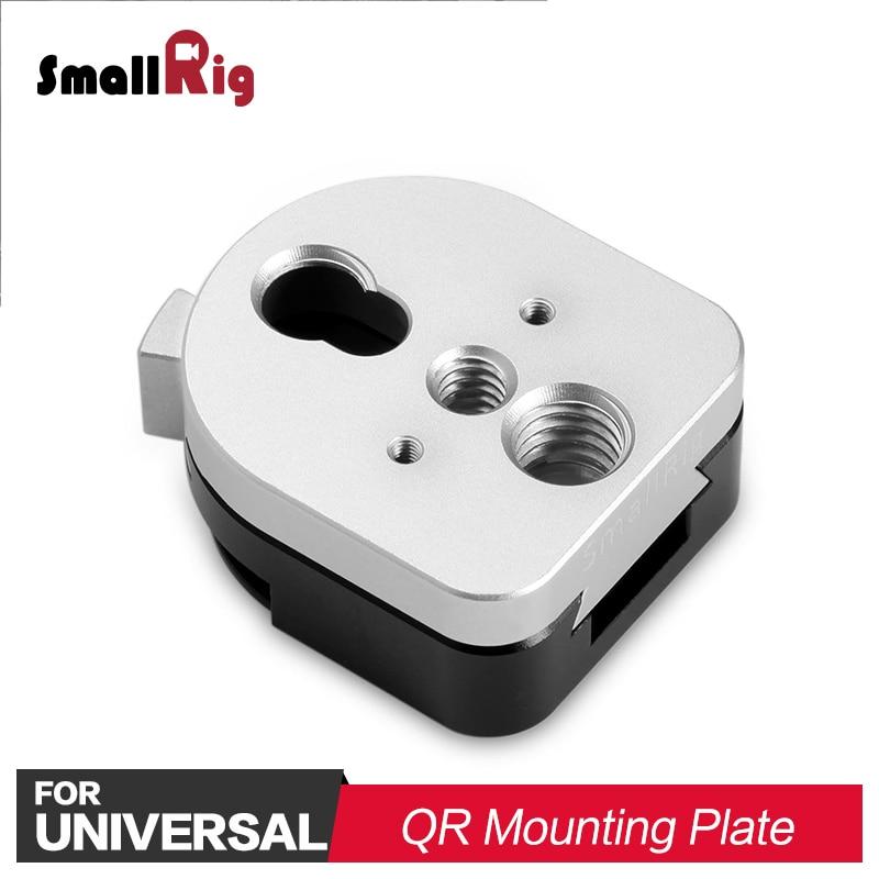 """SmallRig S Lock Quick Release Montage Apparaat voor meest 1/4 """"gear/Monitor Hechten 1855-in Statiefmonopods van Consumentenelektronica op  Groep 1"""
