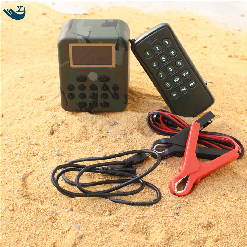 50W Speaker Hunting Bird Sound  Mp3 Player Duck Hunting Sounds Caller  Hunting Decoy Electronic Bird Calls With Remote Control