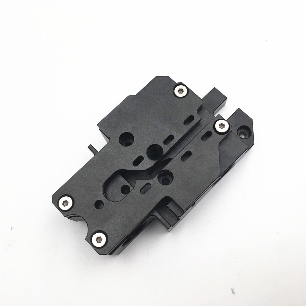 Funssor  Prusa I3 MK3 Aluminum X Axis Carriage Black Anodized Aluminum Alloy Extrusion Carriage For Prusa MK3