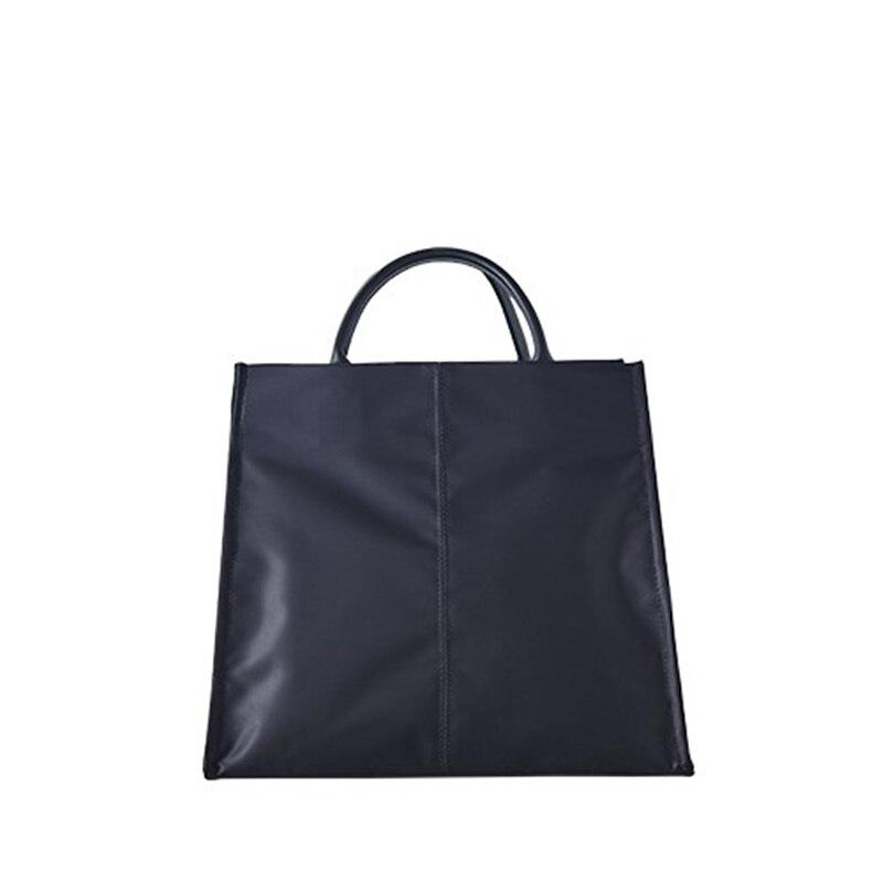 Модная женская сумка простой нейлон бизнес-портфель женский ПР свет водонепроницаемый сумочка Студент Одного Плеча косые