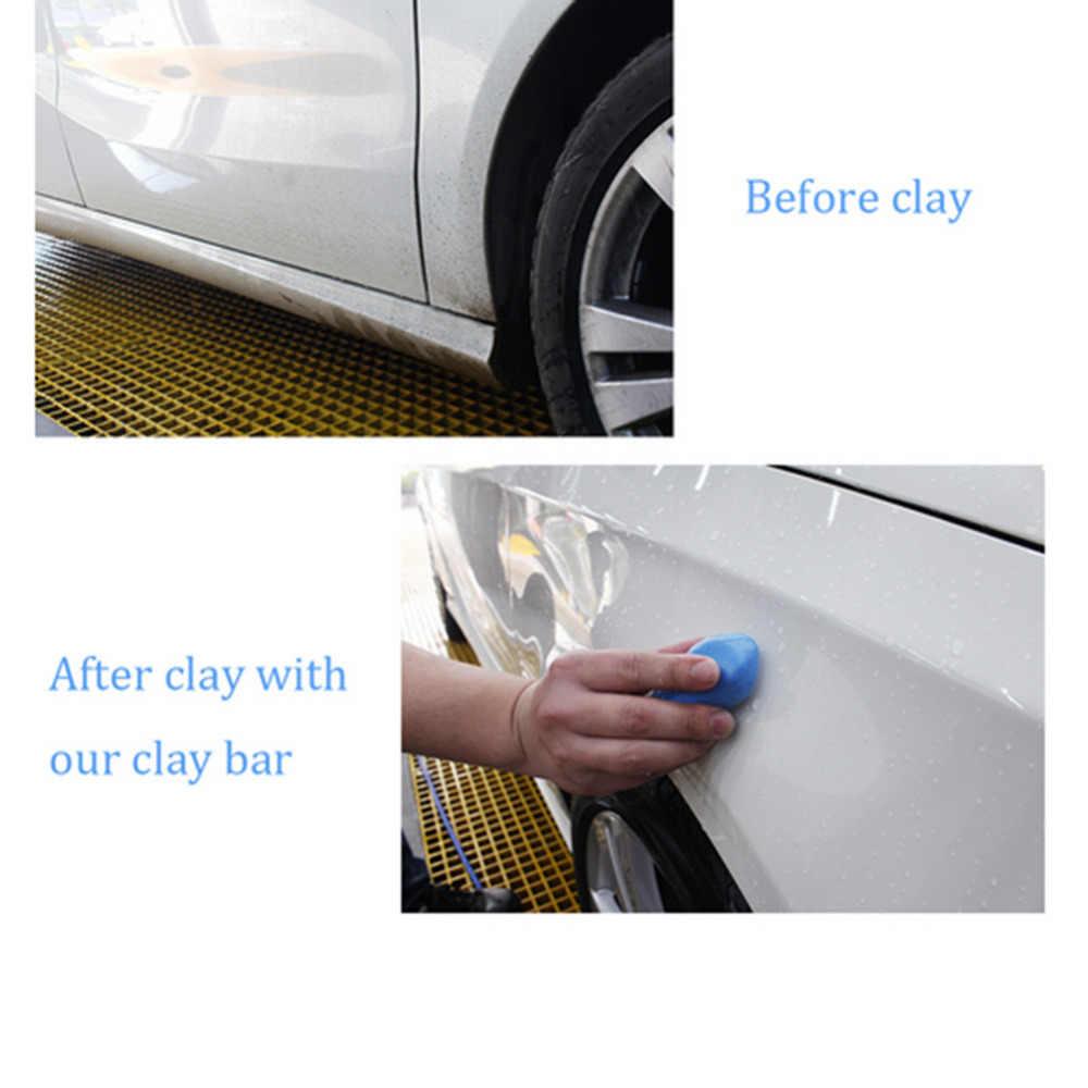 טיפול האוטומטי 5 יח'\אריזה קסם רכב משאית נקי קליי בר אוטומטי המפרט לשטוף מכונת כביסה מכונית מנקה ניקוי שואב להסיר כחול חדש 100 גרם