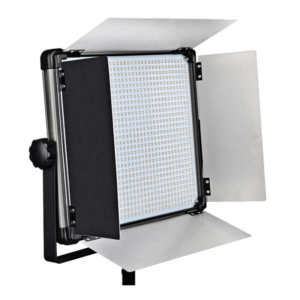 Yidoblo 1 pc Pro Photography Studio Panel LED Lamp light D-2000II 140W video Multi-color light LED Lighting Super Slim & Light