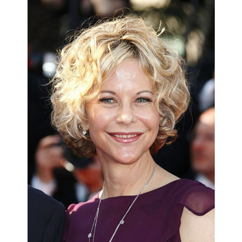 Awesome Aliexpress Com Buy Top Quality Meg Ryan Classical Short Wavy Bob Hairstyle Inspiration Daily Dogsangcom