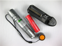 Super Powerful! 20000m 20w LAZER Flashlight Green laser pointers 532nm Burn Matches & Light Cigarettes+charger+gift box