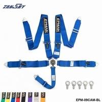 TANSKY EPMAN Universal 5 Point Camlock Quick Release Racing Seat Belt Harness 3 SFI 16 1