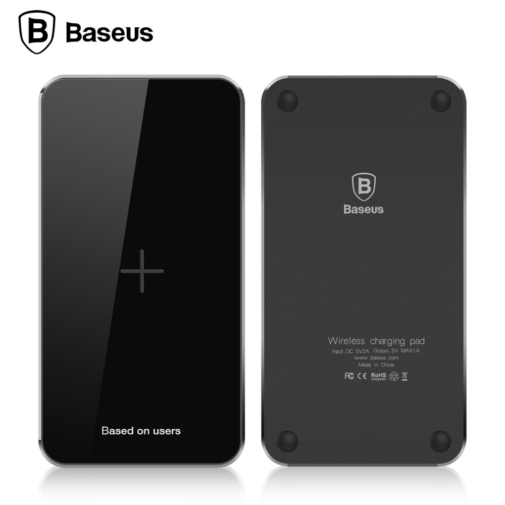 Baseus Qi Wireless Charger Fast Charging Coil Pad For Samsung s7 s6 Edge Nexus 6 5