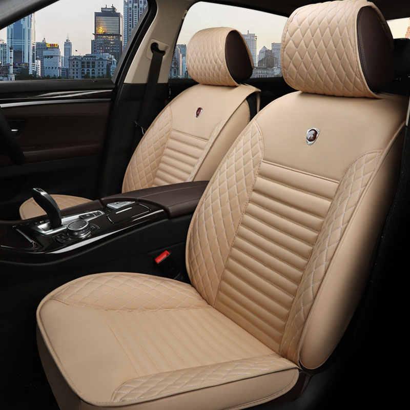 جلد السيارات غطاء مقعد السيارة العالمي وسادة لمازدا 3 2 323 626 5 axela bk 6 cx5 cx-5 cx7 cx-7 cx-3 gg gh gj cx-9 cx9 ديميو
