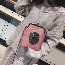 2019 NEW Triangle Tassel Shoulder Bag Women Metal Chain Bucket Ladies Solid Color PU Leather Messenger Bags