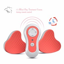 3D Breast Beauty Massage Electric Nipple Chest Enlarger Breast Enhancer Machine Vibration Stimulator Breast Acupressure Massager