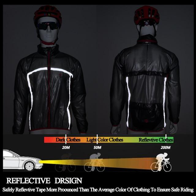X-TIGERT Pro Cycling Raincoat Cycling Jersey Bicycle Jersey Windcoat MTB Bike Clothing Jacket Rainproof Waterproof Clothes
