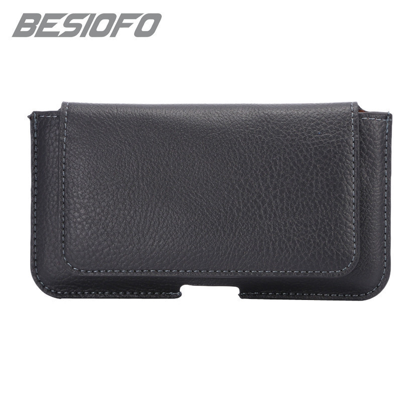 Universal Phone <font><b>Case</b></font> <font><b>For</b></font> <font><b>Lenovo</b></font> K8 K8 Plus S8 <font><b>S920</b></font> Mini Magnetic Casual Pouch With Belt Clip Waist Pouch Card Slot Holster image