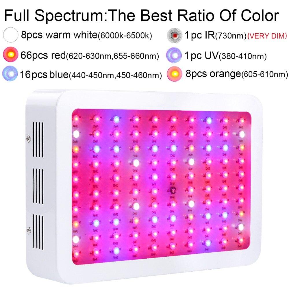 2017 meilleur spectre complet blanc 300 W LED cultiver la lumière pour les plantes d'intérieur floraison végétative rendement supérieur qualité supérieure livraison gratuite - 3